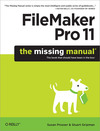 Livre numrique FileMaker Pro 11: The Missing Manual