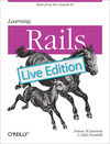 Livre numrique Learning Rails: Live Edition