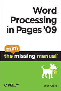 Livre numérique Word Processing in Pages '09: The Mini Missing Manual