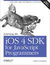 Livre numrique Learning the iOS 4 SDK for JavaScript Programmers