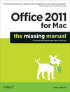 Livre numrique Office 2011 for Macintosh: The Missing Manual