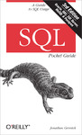 Livre numrique SQL Pocket Guide