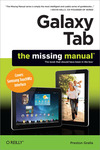 Livre numrique Galaxy Tab: The Missing Manual