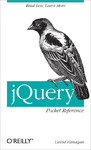 Livre numrique jQuery Pocket Reference