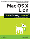 Livre numérique Mac OS X Lion: The Missing Manual