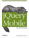 Livre numérique jQuery Mobile: Up and Running