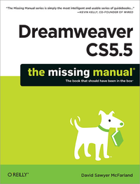 Livre numrique Dreamweaver CS5.5: The Missing Manual