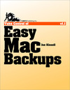 Livre numérique Take Control of Easy Mac Backups