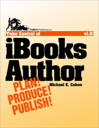 Livre numrique Take Control of iBooks Author