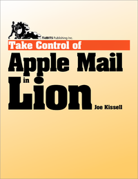 Livre numérique Take Control of Apple Mail in Lion