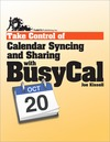 Livre numérique Take Control of Calendar Syncing and Sharing with BusyCal
