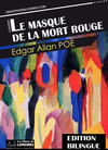 Livre numrique Le masque de la mort rouge (dition bilingue)
