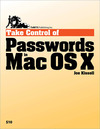 Livre numérique Take Control of Passwords in Mac OS X