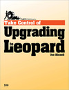Livre numrique Take Control of Upgrading to Leopard