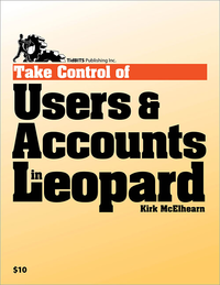 Livre numérique Take Control of Users & Accounts in Leopard
