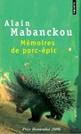 Livre numrique Mmoires de porc-pic