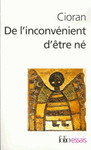 Livre numrique De l&#x27;inconvnient d&#x27;tre n