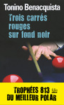 Livre numrique Trois carrs rouges sur fond noir