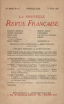 Livre numrique La Nouvelle Revue Franaise N&#x27; 115 (Avril 1923)