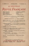 Livre numrique La Nouvelle Revue Franaise N&#x27; 122 (Novembre 1923)