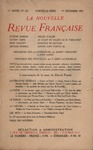 Livre numrique La Nouvelle Revue Franaise N&#x27; 123 (Dcembre 1923)