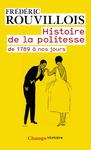 Livre numrique Histoire de la politesse de 1789  nos jours