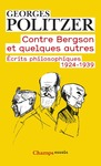 Livre numrique Contre Bergson et quelques autres