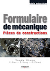 Livre numrique Formulaire de mcanique