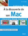 Livre numrique  la dcouverte de son Mac - Version Snow Leopard