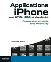 Livre numrique Applications iPhone avec HTML, CSS et JavaScript