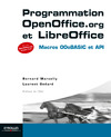 Livre numrique Programmation OpenOffice.org  et LibreOffice