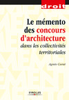 Livre numrique Le mmento des concours d&#x27;architecture dans les collectivits territoriales