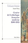 Livre numrique Gense de l&#x27;esthtique franaise moderne