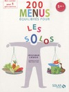 Livre numrique 200 menus quilibrs en solo