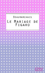 Livre numrique Le Mariage de Figaro