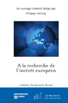 Livre numrique A la recherche de l&#x27;intrt europen