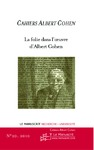 Livre numrique Cahiers Albert Cohen n20