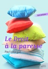 Livre numrique Le Droit  la paresse