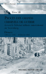 Livre numrique Procs des grands criminels de guerre devant le Tribunal militaire international de Nuremberg