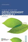 Livre numrique Vous avez dit dveloppement durable? 2e dition
