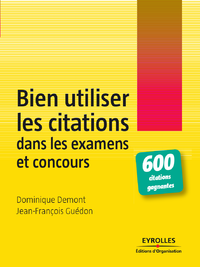Livre Bien utiliser les citations dans les examens et concours