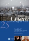 Livre numrique 25 | 2009 - La Lettre n 25 - lettre CDF