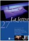 Livre numrique 27 | 2009 - La Lettre n 27 - lettre CDF