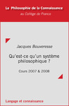 Livre numrique Qu&#x27;est-ce qu&#x27;un systme philosophique ?