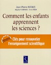 Livre numrique Comment les enfants apprennent les sciences