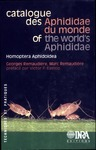 Livre numérique Catalogue des Aphididae du monde / of the World's Aphididae