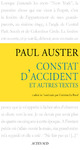 Livre numrique Constat d&#x27;accident et autres textes