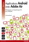 Livre Applications Android avec Adobe Air