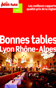 Livre numrique Bonnes tables Lyon - Rhne-Alpes 2012