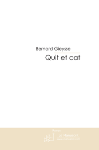 Livre numrique Quit et cat